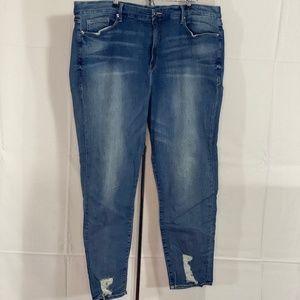 Good American Good Leg High Waist Skinny Jeans 24